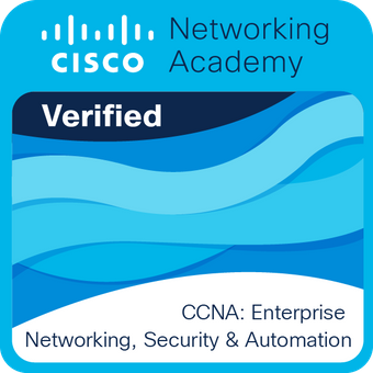 Insignia digital de Cisco para CCNA