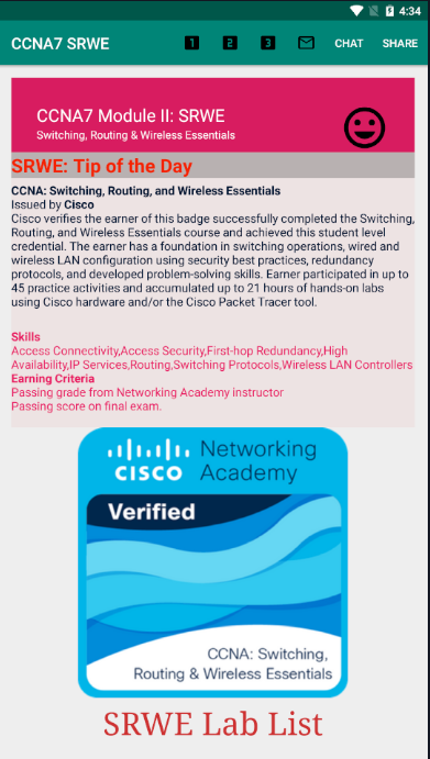 CCNA7 Android App